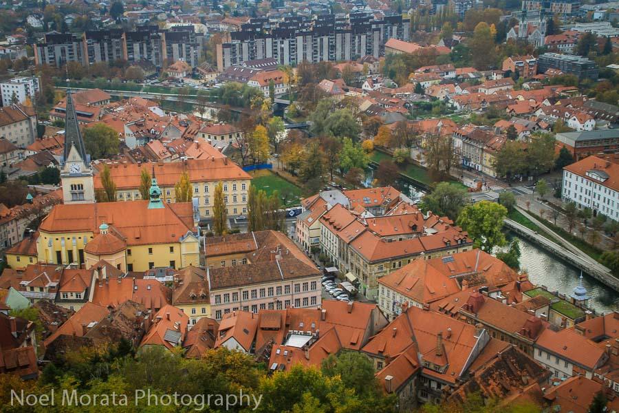 Ljubljana Castle and Panoramas, Travel Photo Mondays