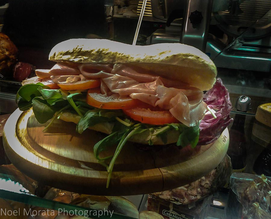 Specialty meat sandwiches make the best take aways from a butcher or meat purveyor