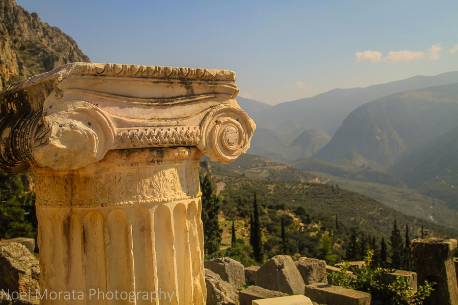 A visit  to the Temple of Apollo and the Oracles of Delphi