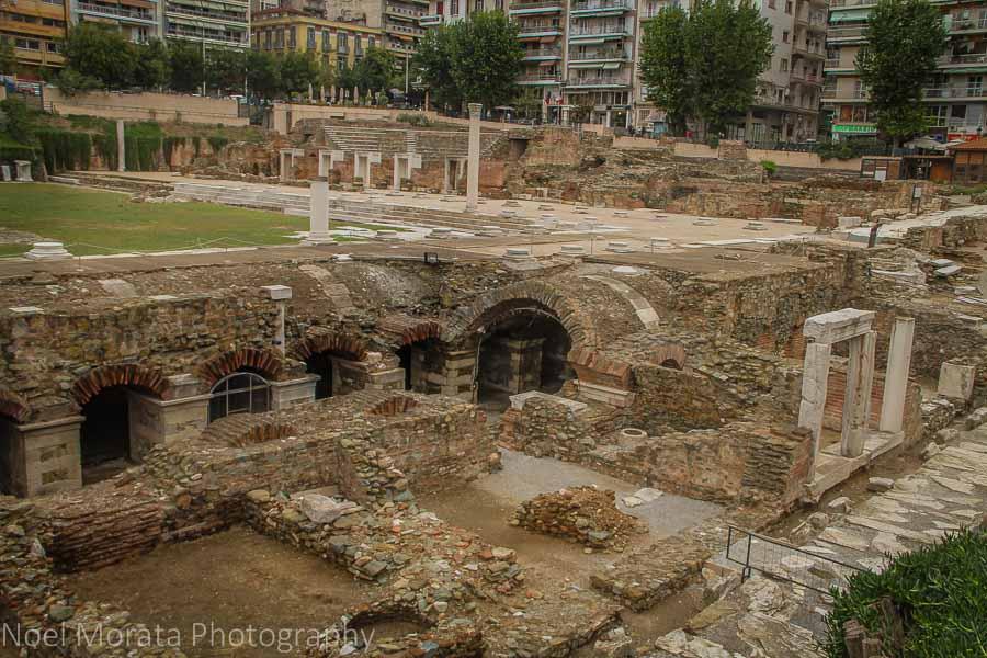 Thessaloniki roman agora