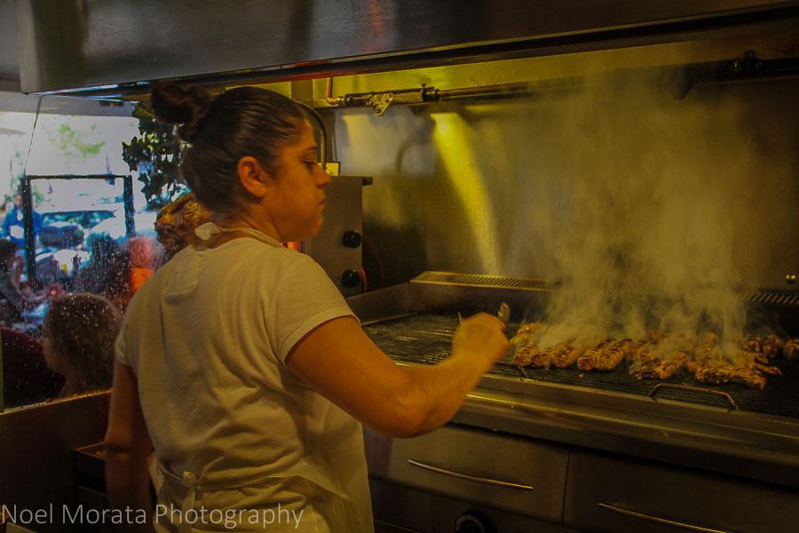 Thessaloniki souvlaki take out