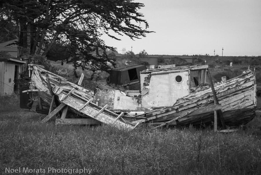 Moss Landing ruin