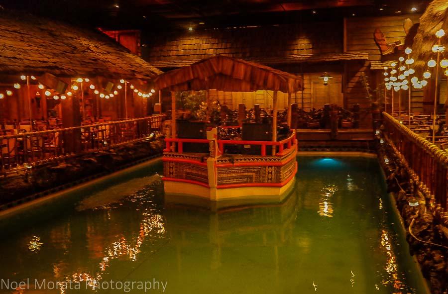 Tonga Room pool at the Fairmont Hotel