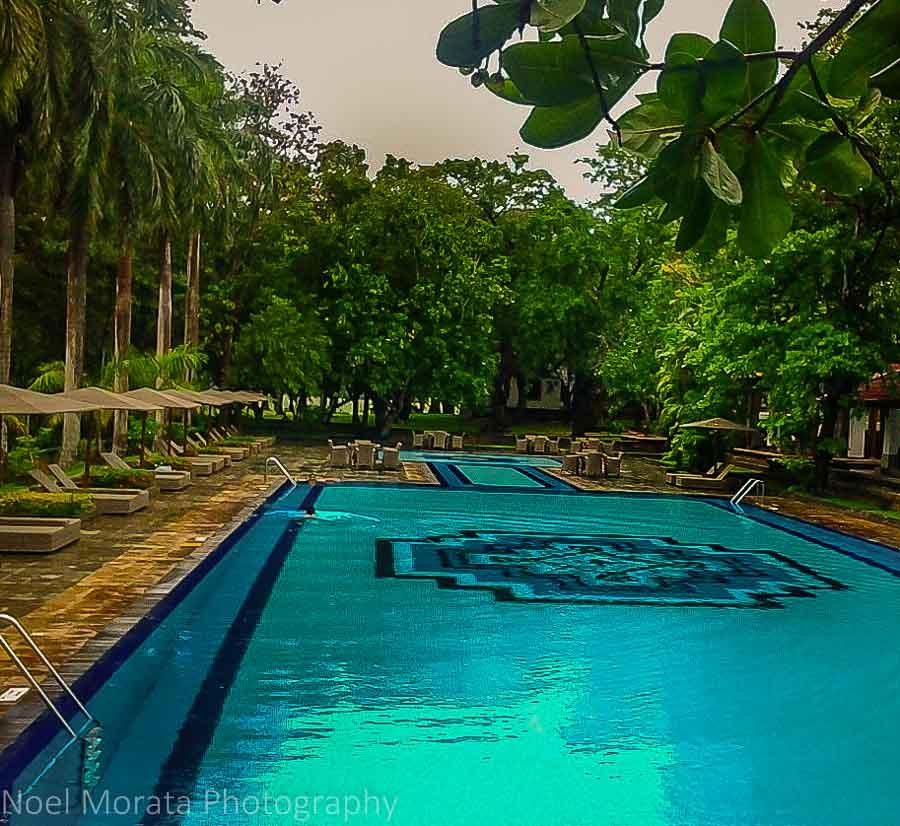 The stunning pool at Cinnamon Lodge in Habanara