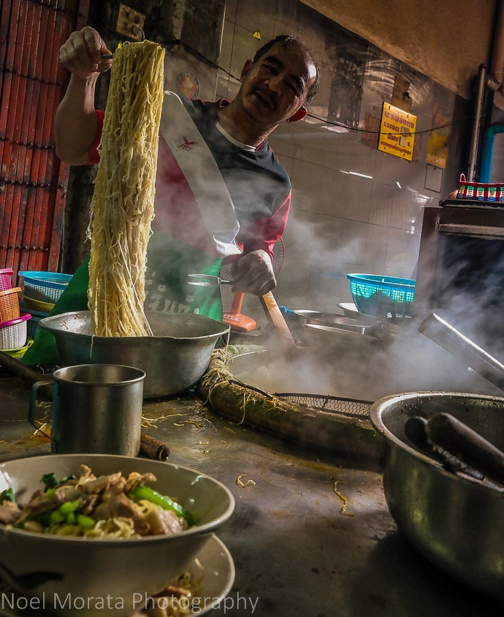 The noodle man in Bangkok's Chinatown