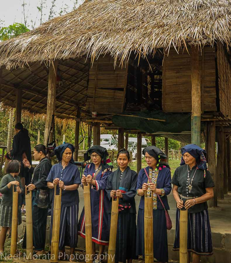 Loatian tribes at Tai Dam Village