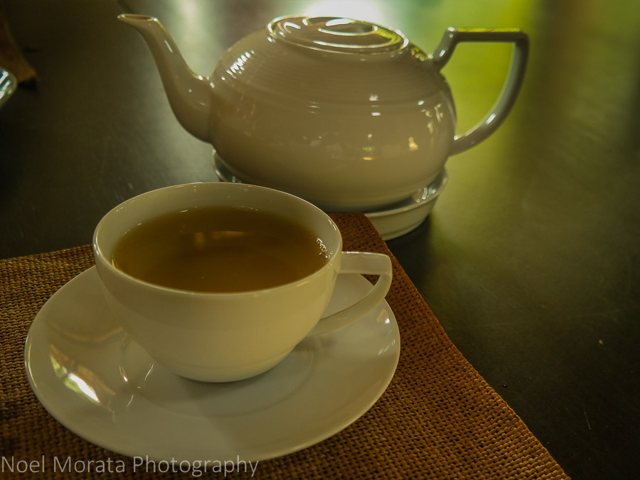 Delicious tea at Araksa Tea Plantation