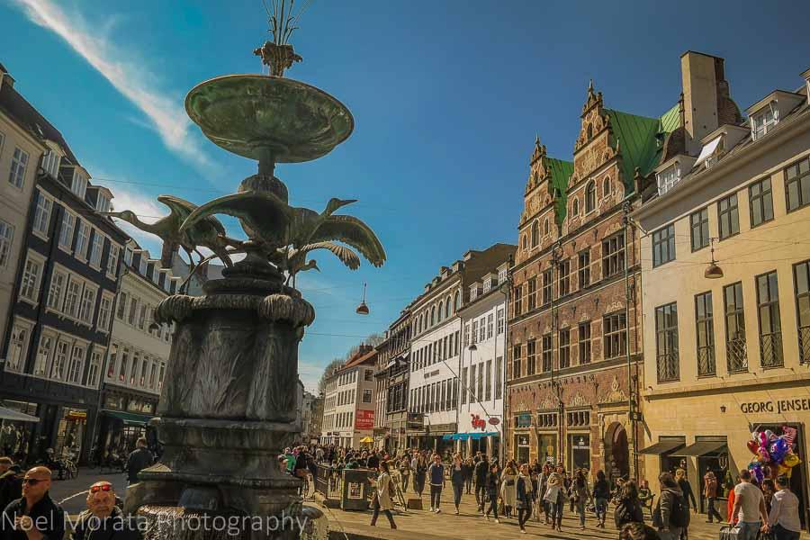 Copenhagen at the Stroget - 20 top attractions and cool hangout spots in Copenhagen