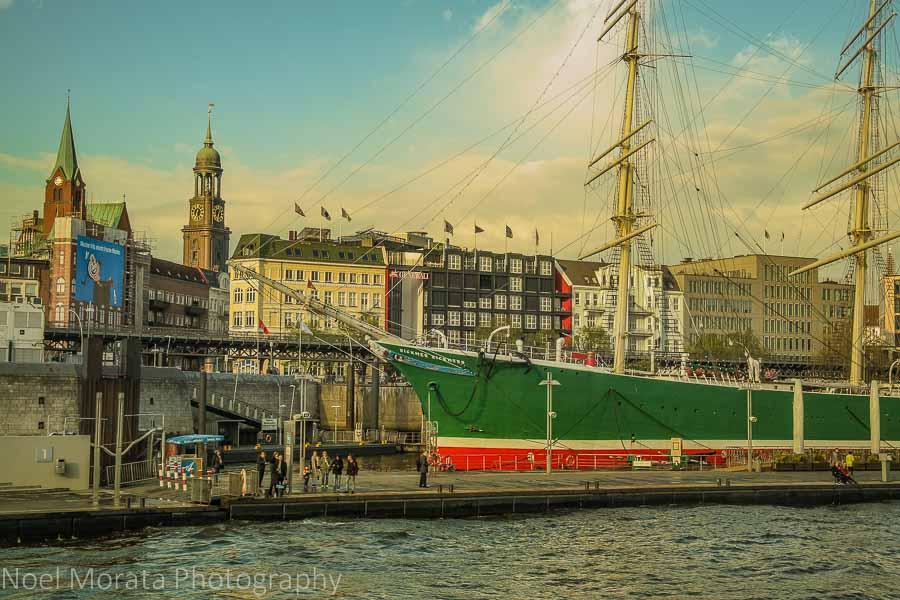 Hamburg port area - A first Impression of Hamburg, Germany