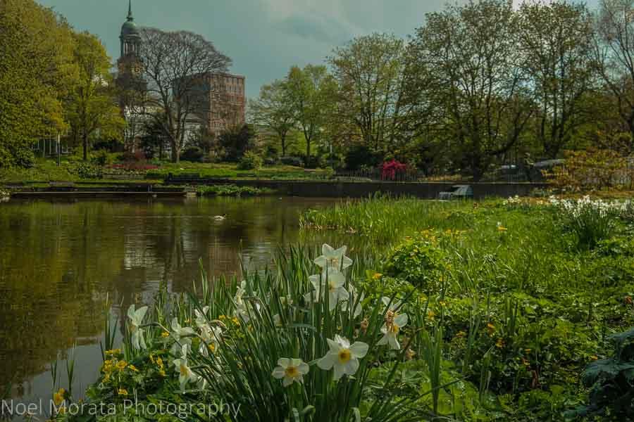 Planten un Blomen in central Hamburg