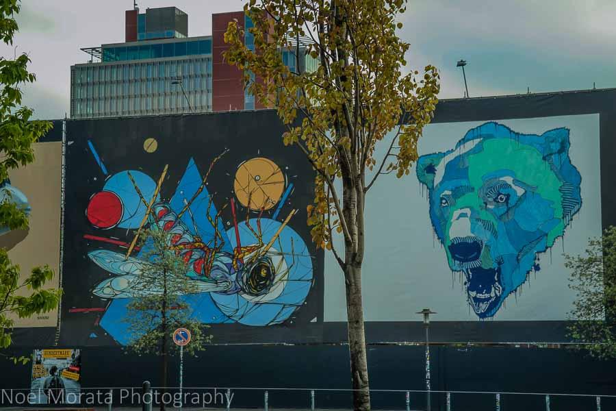 Cool street art at the Reeperbahn, St. Pauli