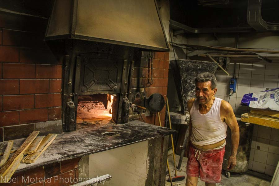 Visiting a forno and pane baker in Trastevere, Rome