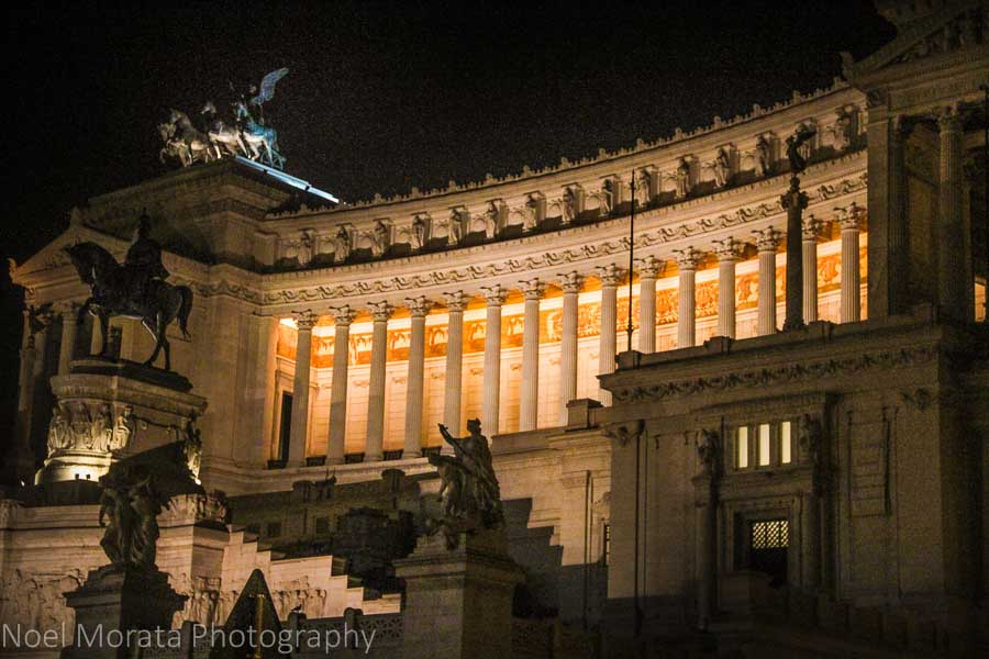 National Monument to Victor Emmanuel II at Piazza Venezia, Rome