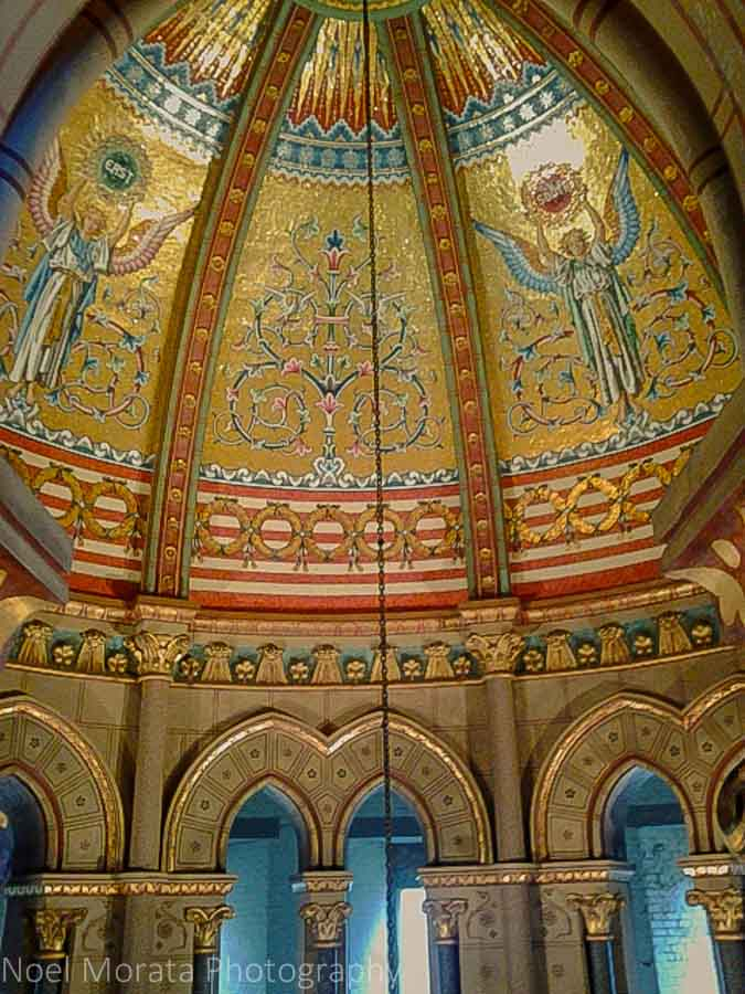 President Garfield's mausoleum at Lake View Cemetery - A visit to Cleveland, Ohio
