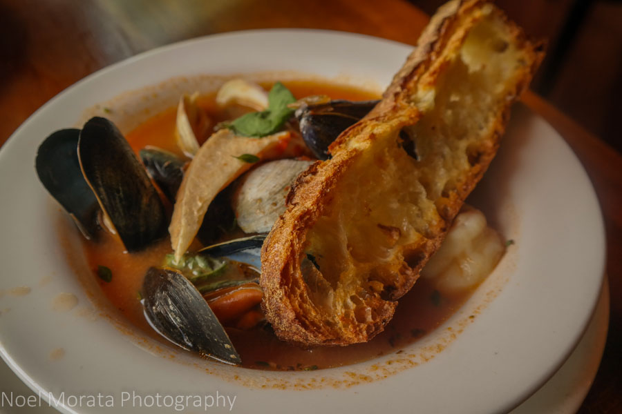 Amazing Bouillabaisse at Fat Cats in Cleveland
