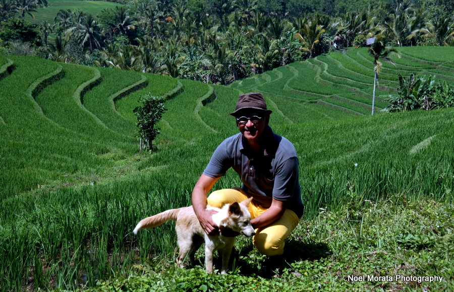Walking along the rice paddies at Gunung Salak - Alila Journeys
