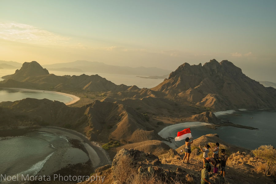 The Indonesian flag - Visiting Komodo National Park