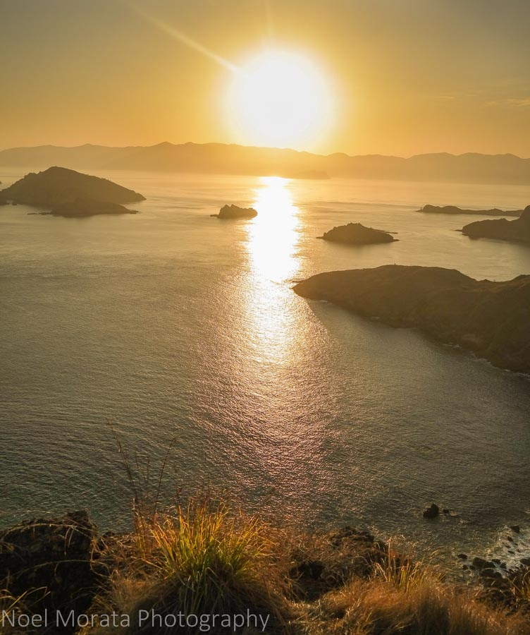 Sunset on Padar Island at Komodo National Park