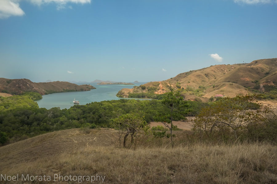 Peak and overlook at Rinca Island - Visiting Komodo National Park