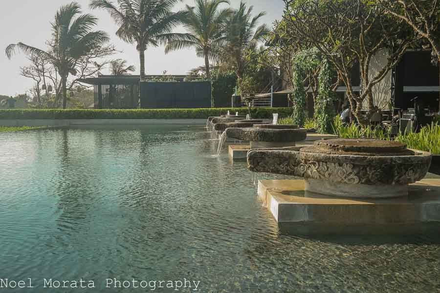 Main swimming pool of Alila Soori - Alila Hotel and journey