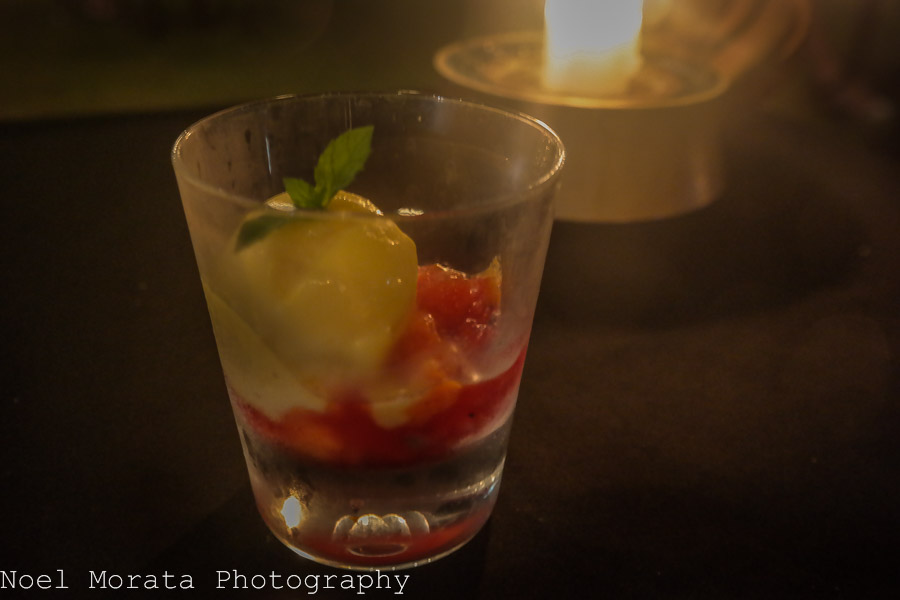 Dessert at Alila Soori - Alila Hotel and journey