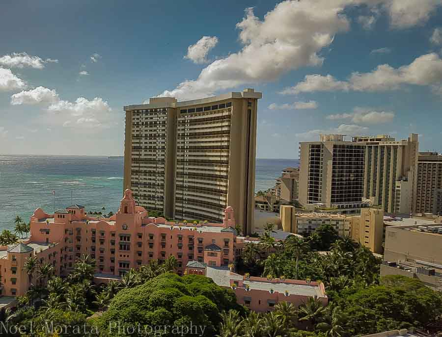 Waikiki views - Waikiki weekend at the Holiday Inn Beachcomber