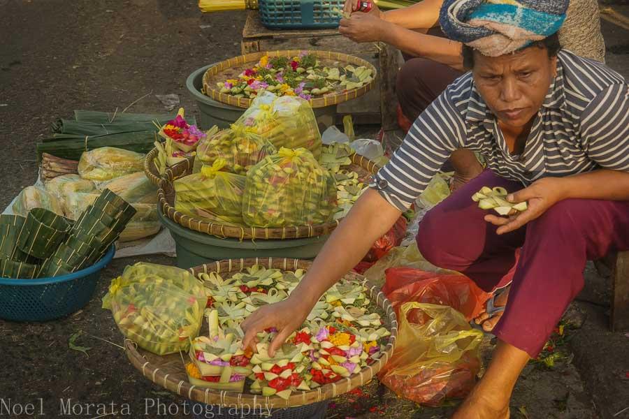 A local market in Tabanan, Bali - Markets in Bali