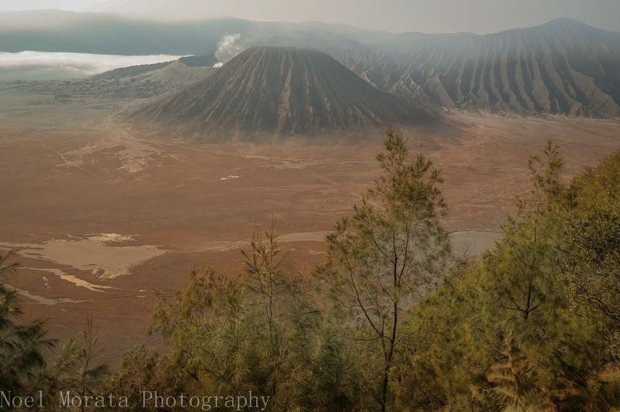 Panorama of Mt Bromo - Visiting Mt. Bromo, Indonesia