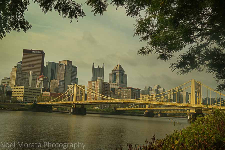 Visiting Pittsburgh, PA in one day