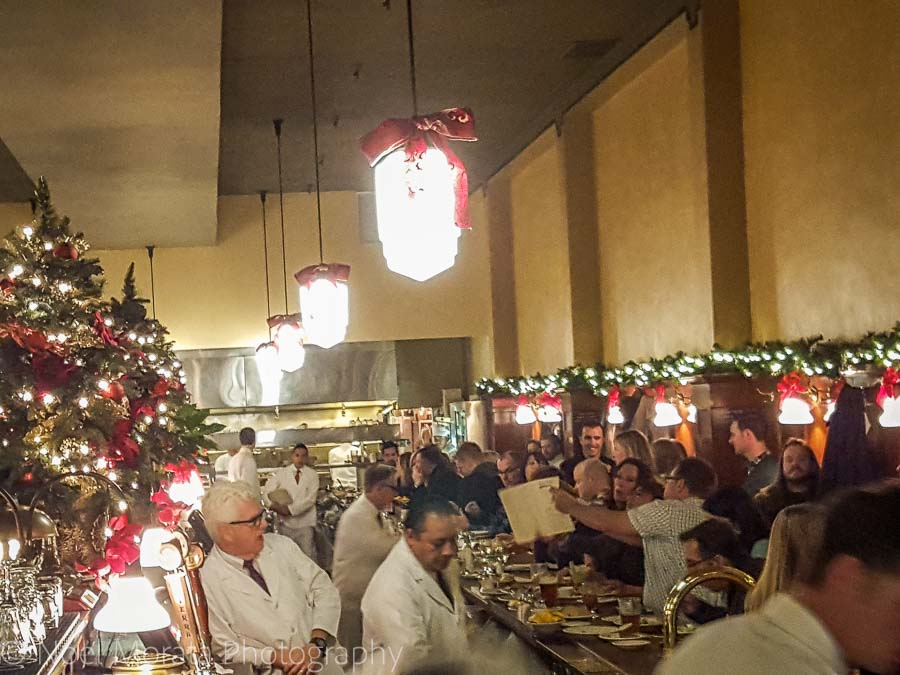 Tadich Grill - Christmas in San Francisco