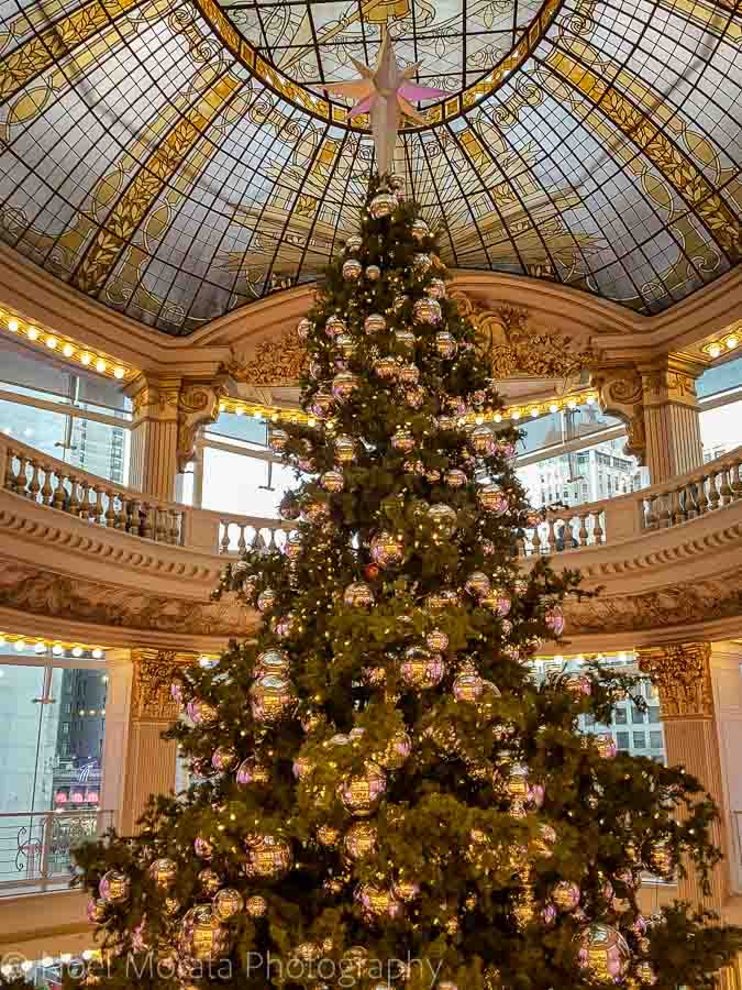 Neiman Marcus tree - Christmas in San Francisco