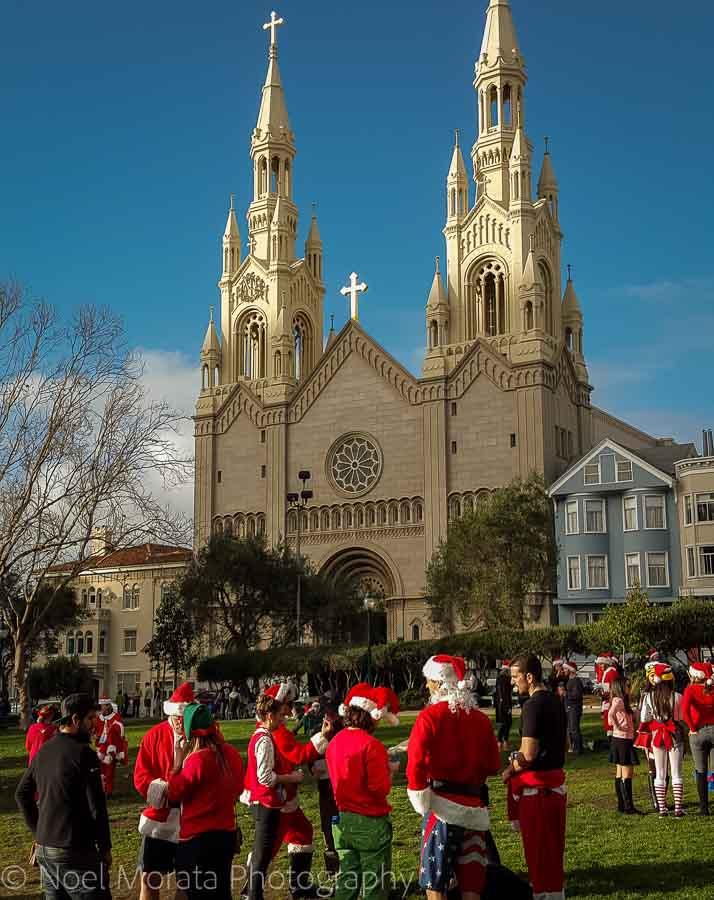 Santa Con at Washington park - Christmas in San