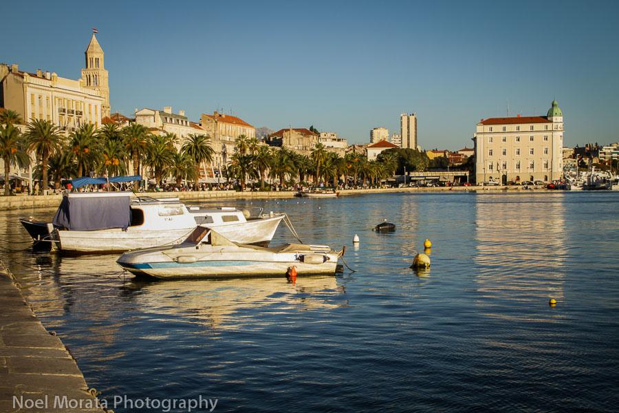 Split harbor view - European destinations for your bucket list