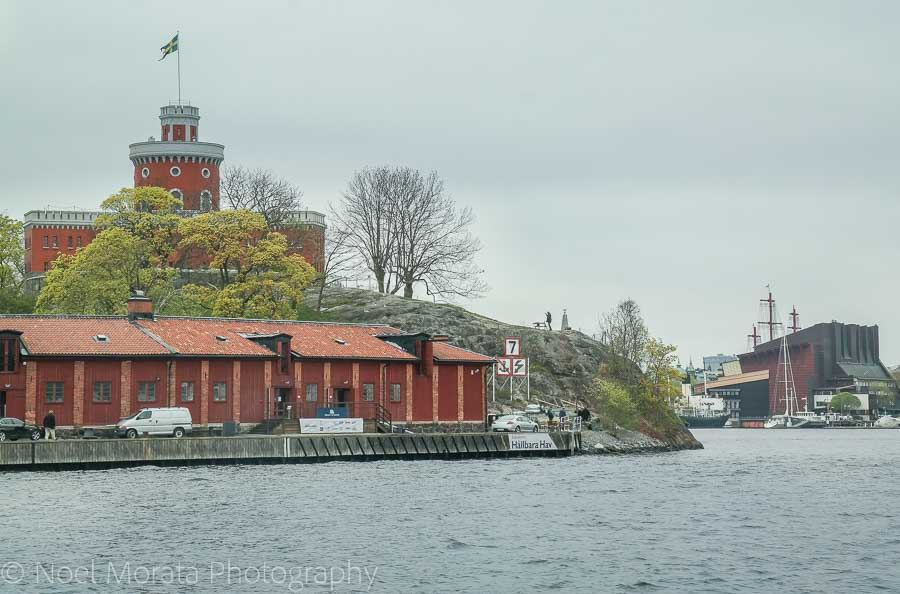 The Kastellet on Skeppsholmen island