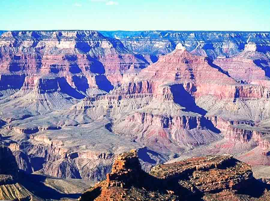 Grand-Canyon-landscape Boomer international bucket list travel