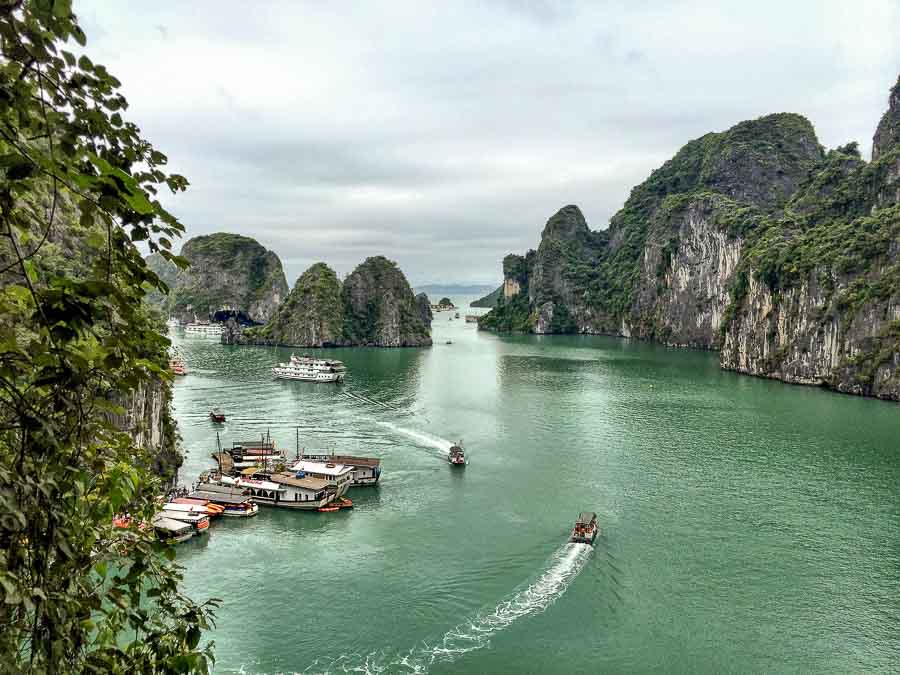 Halong Bay, Vietnam Boomer international bucket list travel