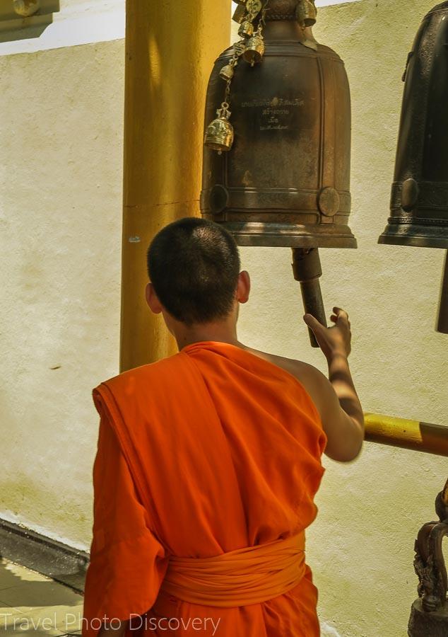 Prayer bells Visiting Wat Phra That Doi Suthep