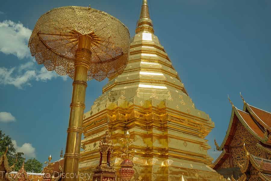 Visiting Wat Phra That Doi Suthep