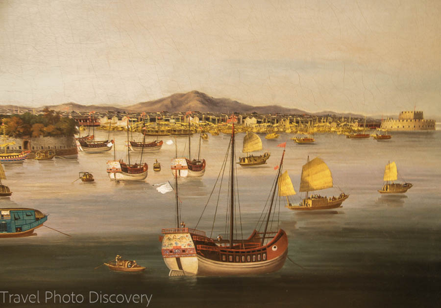Painting from the National Maritime Museum Things to do in Greenwich London