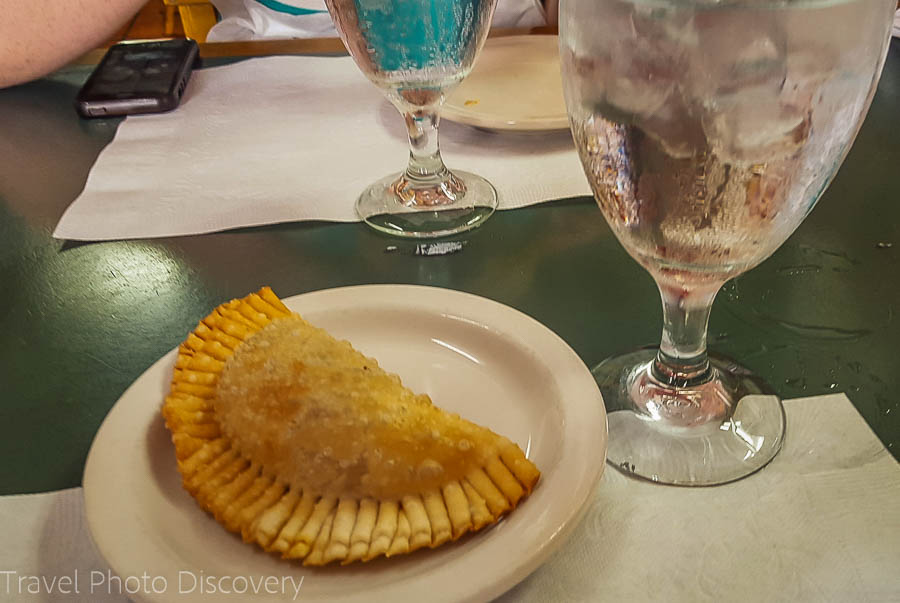 Empanada starter in Little Havana, Miami