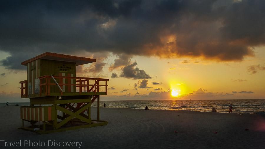 Sunrise at South Beach - Hotel Astor, Miami