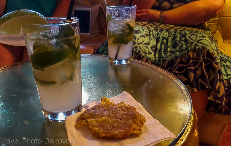 The mojito at the Tides hotel bar South Beach food tour