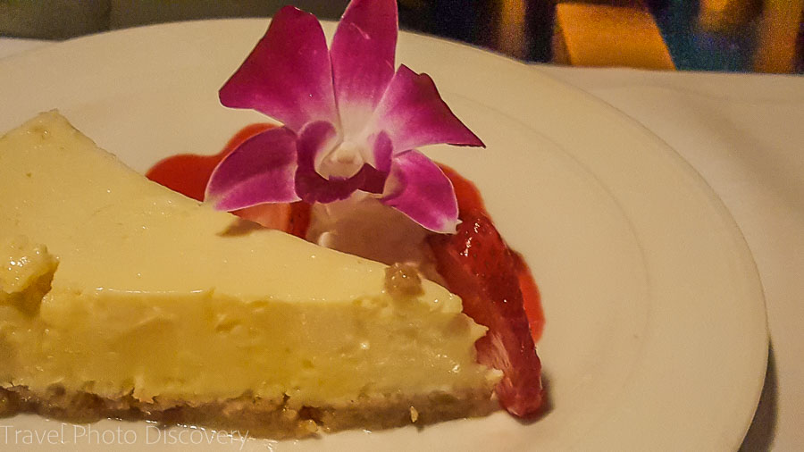 Key lime pie at Chef Michael's, Islamorada, Florida