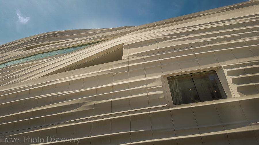 Exterior façade of the SF Moma