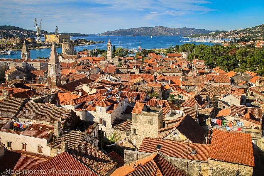 Trogir Fall road trip through Croatia