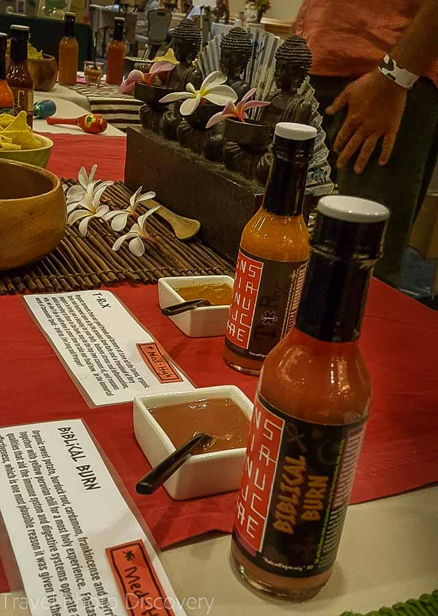 Spicy pepper flavors Taste of the Hawaiian Range