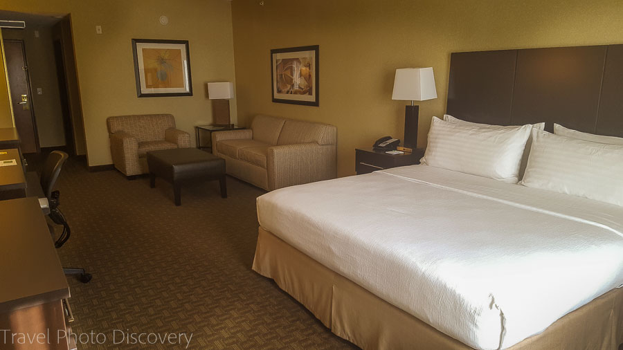 Standard bedroom at Holiday Inn, Chandler Arizona