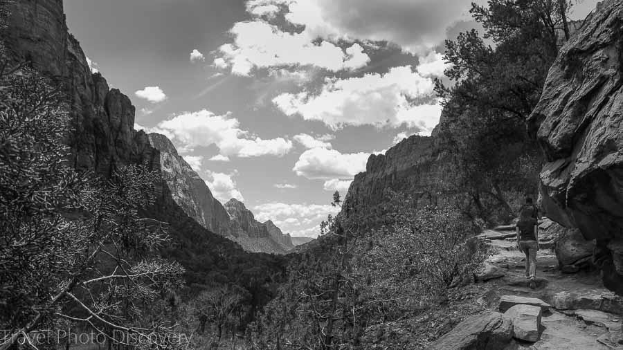 Kayenta trail Zion National Park Utah