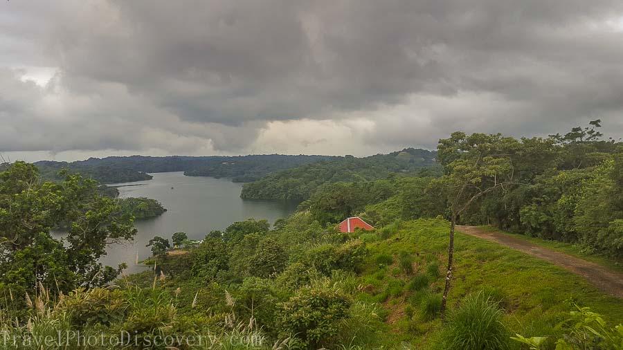 Overlooking Gatun lake Zip line adventure tour Panama City, Panama