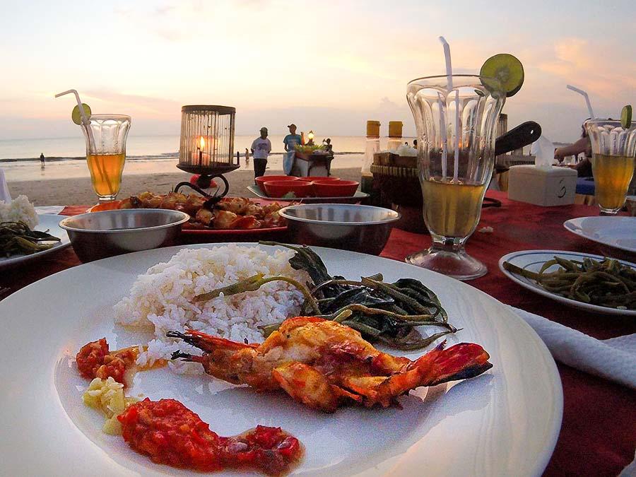 Romantic getaways around the world Jimbaran, Bali